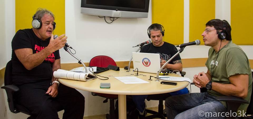Mestre Fernando Pinduka em entrevista ao programa Ring Transamérica